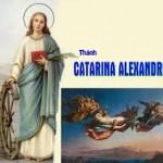 Ngày 25 tháng 11 THÁNH CATARINA ALEXANDRIA ĐỒNG TRINH TỬ ĐẠO