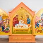 'Biểu tượng Gia đình Thánh' cho Hội Nghị Các Gia đình Thế giới năm 2018 được trình bày cho Đức Giáo hoàng Phanxicô