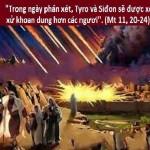 LỜI CHÚA THỨ BA TUẦN XV THƯỜNG NIÊN NĂM CHẴN (17/7/2018) – (Mt 11, 20-24)