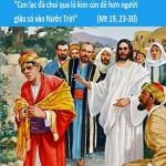 LỜI CHÚA THỨ BA TUẦN XX THƯỜNG NIÊN NĂM CHẴN (21/8/2018) – (Mt 19, 23-30)