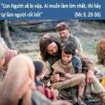 LỜI CHÚA CHÚA NHẬT XXV THƯỜNG NIÊN NĂM B (23/9/2018) – (Mc 9, 29-36)