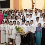 Giáo xứ Tân việt Rửa tội dự tòng