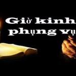 Kinh Phung vụ – Thứ Sáu Tuần XXXII Mùa Thường Niên Năm chẵn 16/11/2018.