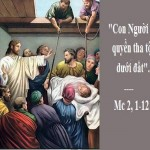 LỜI CHÚA THỨ SÁU TUẦN I THƯỜNG NIÊN NĂM LẺ (18/01/2019) – (Mc 2, 1-12)