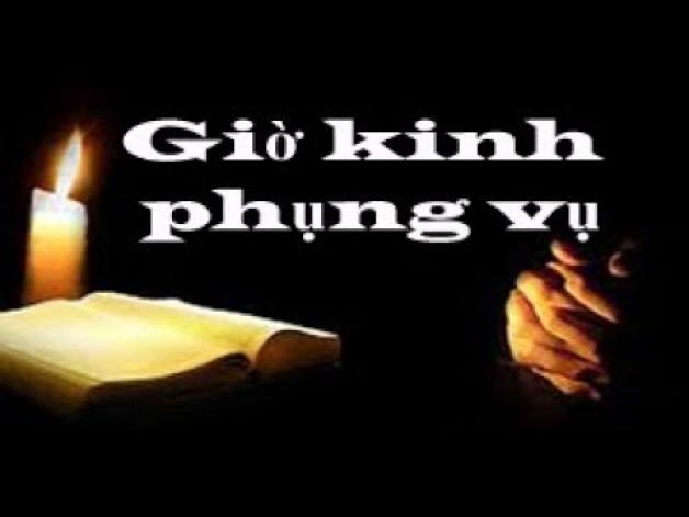 Kinh phụng Vụ : Thứ Sáu 8 tháng 2  Tuần IV – Mùa Thường Niên