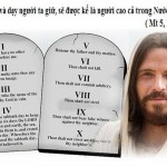 LỜI CHÚA THỨ TƯ TUẦN III MÙA CHAY NĂM LẺ (27/3/2019) – (Mt 5, 17-19) – MÙA CHAY THÁNH 2019