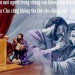 LỜI CHÚA THỨ BA TUẦN III MÙA CHAY NĂM LẺ (26/3/2019) – (Mt 18, 21-35) – MÙA CHAY THÁNH 2019