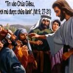 LỜI CHÚA THỨ SÁU TUẦN I MÙA VỌNG NĂM B 2020 (04/12/2020) – (Mt 9, 27 – 31) THÁNH GIOAN ĐAMAS – Tiến sĩ Hội thánh, Lễ nhớ