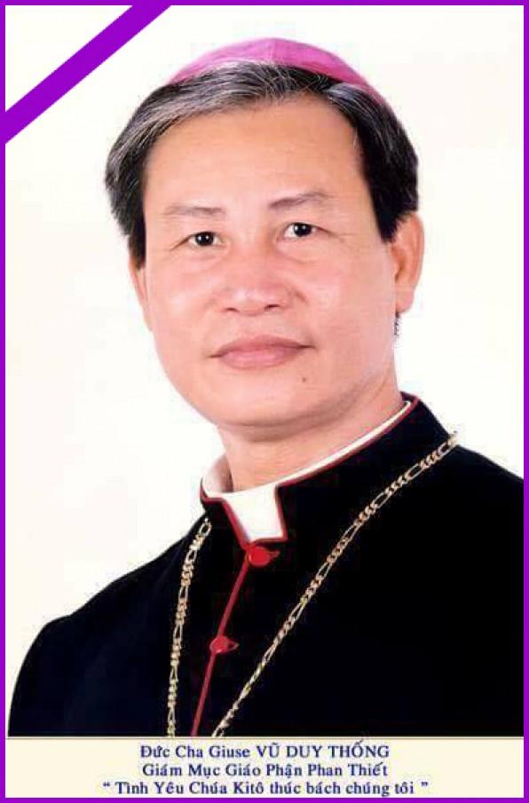 Đức cha Phêrô Nguyễn Văn Khảm: Vâng, anh Thống, anh hãy đi bình an và xin nhớ đến người còn ở lại