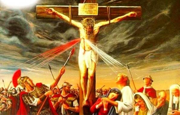 NGƯỜI LÍNH ĐÂM CẠNH NƯƠNG LONG CHÚA JESUS