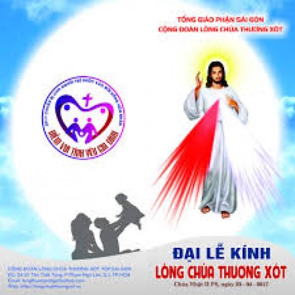 Đại lễ Lòng Thương Xót Chúa 2017 TGP Sài Gòn