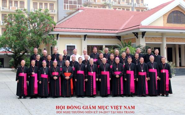 Hội đồng Giám mục Việt Nam kết thúc Hội nghị thường niên kỳ I/2017
