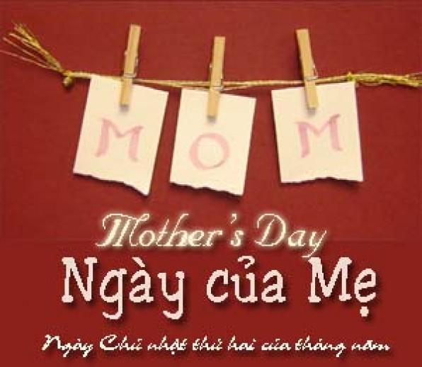 CHÚC MỪNG NGÀY CỦA MẸ – HAPPY MOTHER'S DAY