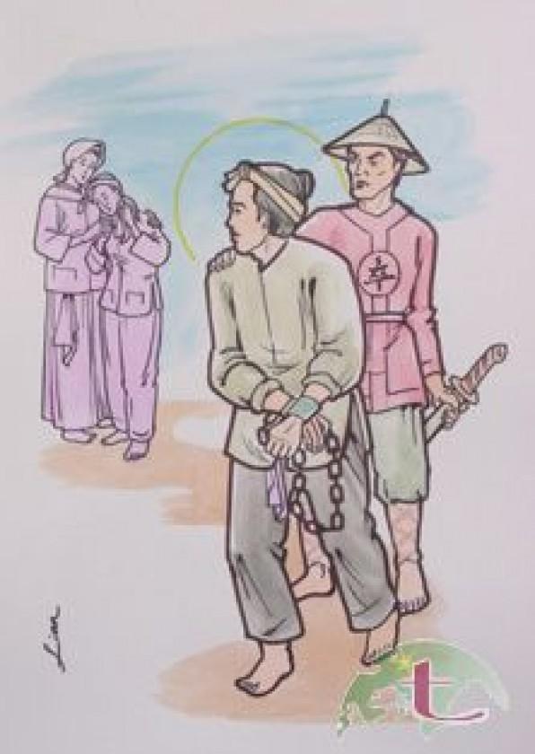 Ngày 22/05 Thánh Lô-ren-sô Ngôn Giáo dân tử đạo