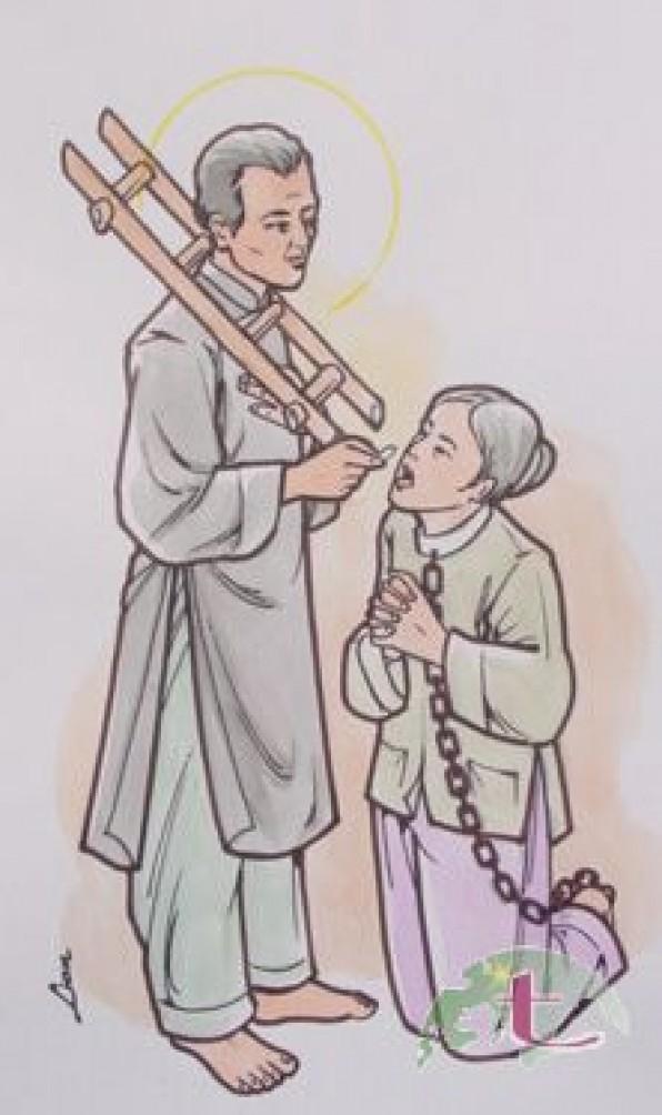 Ngày 26/05 Thánh Gioan Đoàn Trinh Hoan Linh mục tử đạo.