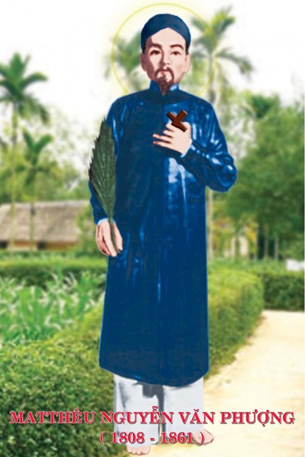 Ngày 26/ 05 Thánh Mát-thêu Nguyễn Văn Phượng Trùm họ tử đạo