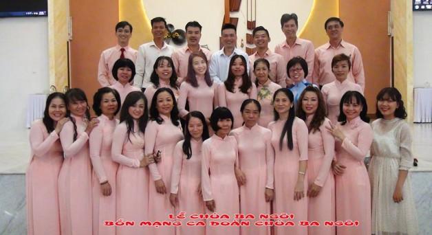 Lễ Chúa Ba Ngôi_⛪Bổn Mạng ca đoàn Chúa Ba Ngôi GX Tân Việt 2017