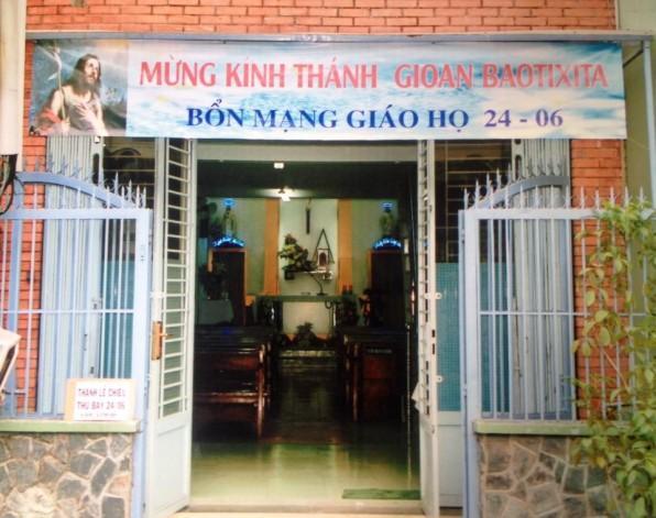 Giáo họ Gioan Baotixita GX Tân Việt mừng Kính Thánh bổn mạng 24/6/2017