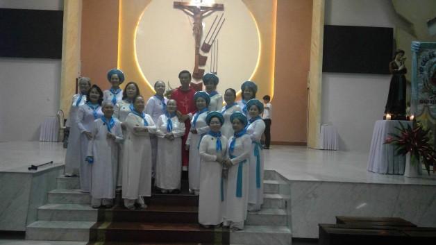 Thánh Lễ Mừng Kính Thánh ANÊ LÊ THỊ THÀNH bổn mạng Chi Hội các Bà Mẹ Công Giáo Xứ Tân Việt 12/7/2017