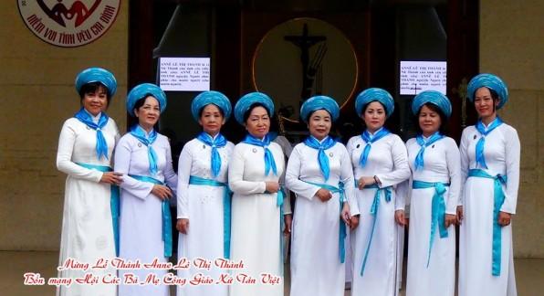 Video  Lễ kính Thánh Annê Lê Thị Thành _ Bổn mạng Chi Hội Các Bà Mẹ Công Giáo Giáo xứ Tân Việt 12/7/2017.