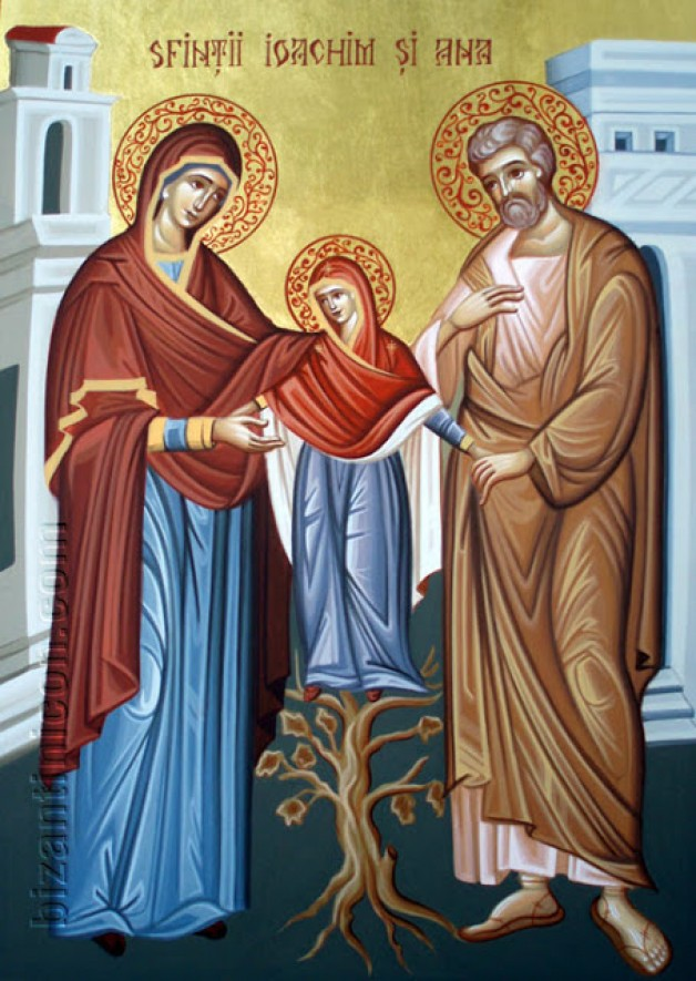 Ngày 26/7: THÁNH GIO-A-KIM VÀ THÁNH AN-NA - SONG THÂN ĐỨC MARIA.
