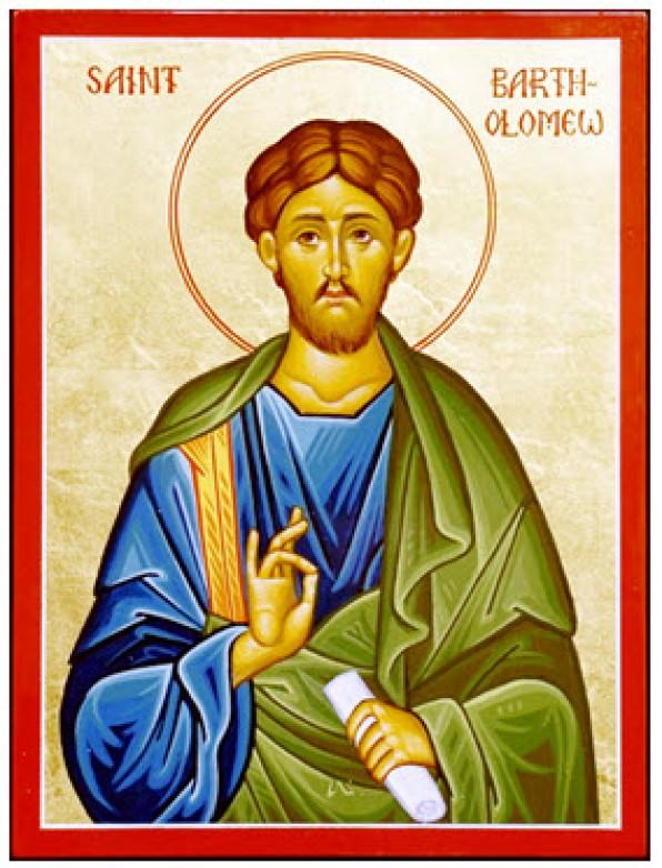 Ngày 24 tháng 8  THÁNH BA-TÔ-LÔ-MÊ-Ô Tông Đồ