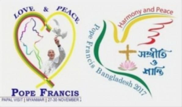 Toà thánh công bố logo chính thức chuyến tông du của Đức Thánh Cha đến Myanmar và Bangladesh