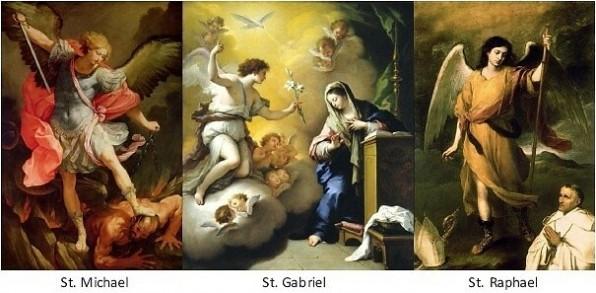 TỔNG LÃNH THIÊN THẦN MICAEL – GABRIEL – RAPHAEL