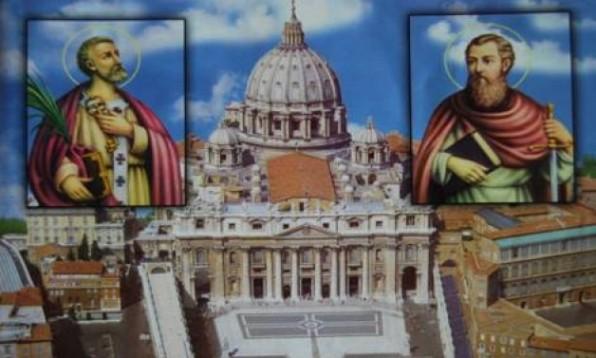 Ngày 18 tháng 11  CUNG HIẾN THÁNH ĐƯỜNG THÁNH PHÊ-RÔ VÀ PHAO-LÔ