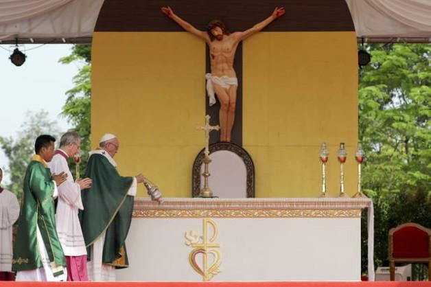 150 ngàn tín hữu Myanmar tham dự thánh lễ với Đức Thánh Cha - Ảnh minh hoạ 3