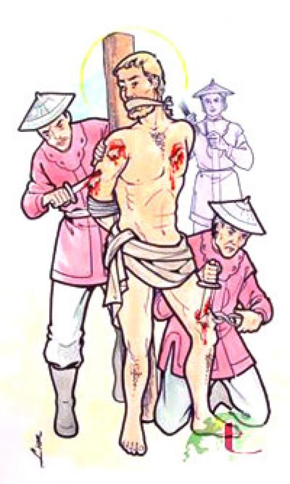 Ngày 30 tháng 11 THÁNH GIU-SE DU  Linh Mục Thừa Sai Tử Đạo