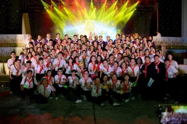 Đại Hội Huynh Trưởng TNTT mừng 100 năm thành lập Nghĩa Binh Thánh Thể