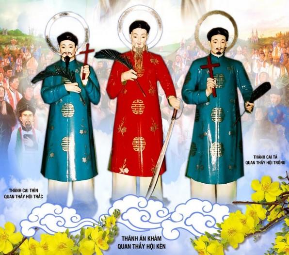 NGÀY 13 THÁNG 1 Thánh Đa minh Khảm,Giuse Tả và Luca Thìn. Giáo dân tử đạo.