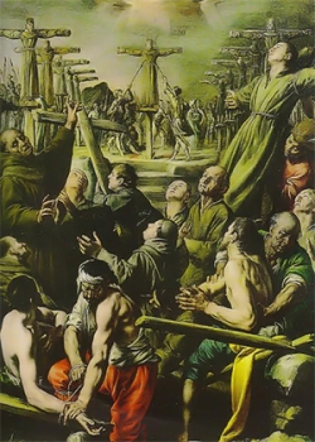Ngày 6 tháng 2  THÁNH PHAO-LÔ MI-KI . Và các bạn tử đạo