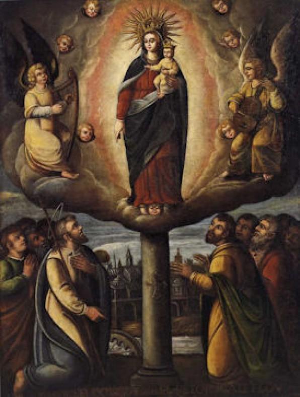 Đền thờ lạ lùng Đức Mẹ Cột Trụ ở Zaragoza, Tây Ban Nha