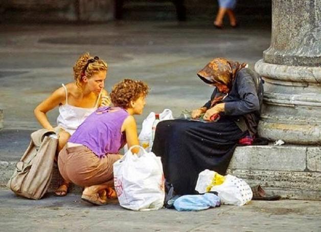 Sự cần thiết phải cho người nghèo
