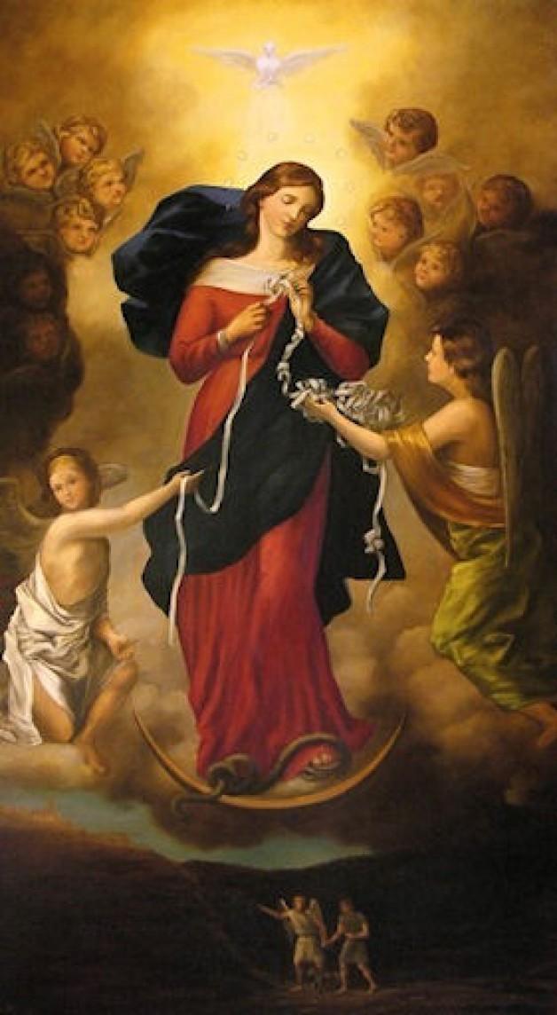Đức Mẹ Tháo Gỡ Nút Thắt là ai?