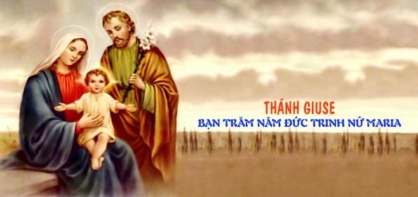 Thánh Giuse – Bạn trăm năm Đức Trinh Nữ Maria