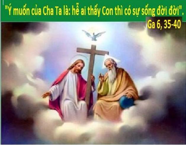 LỜI CHÚA THỨ TƯ TUẦN III PHỤC SINH 2018 (18/4/2018) – (Ga 6, 35-40)