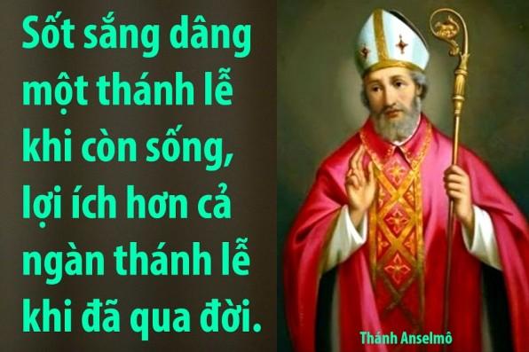 21 Tháng 4 Thánh Anselm (1033-1109)