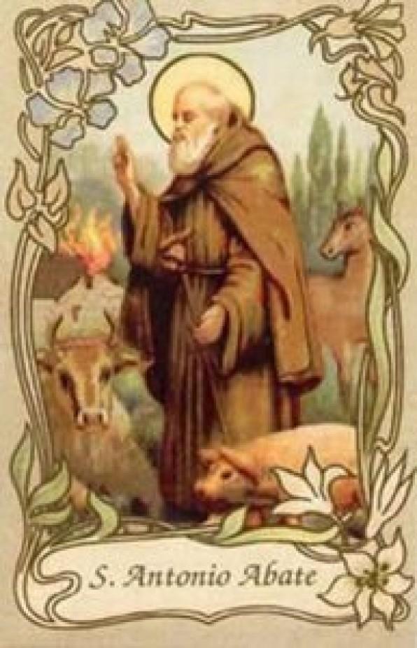 Cầu xin Thánh Antôn Cả chữa các bệnh ngoài da