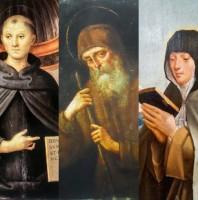 Một thiên thần, ba thánh và một Giáo hoàng để xin ơn sinh con