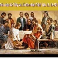 LỜI CHÚA THỨ NĂM TUẦN IV PHỤC SINH 2018 (26/4/2018) – (Ga 13, 16-20)