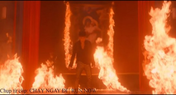 Sơn Tùng M-TP đốt ảnh Thánh trong MV mới nhất