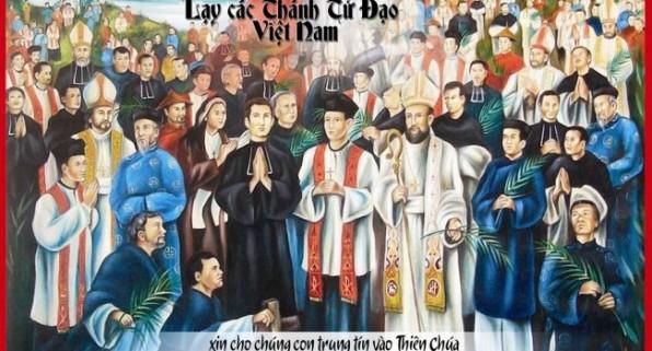 Mừng 30 năm các Thánh tử đạo Việt Nam