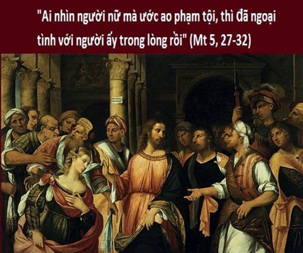 LỜI CHÚA THỨ SÁU TUẦN X THƯỜNG NIÊN NĂM CHẴN (15/6/2018) – (Mt 5, 27-32) – THÁNG THÁNH TÂM CHÚA GIÊSU
