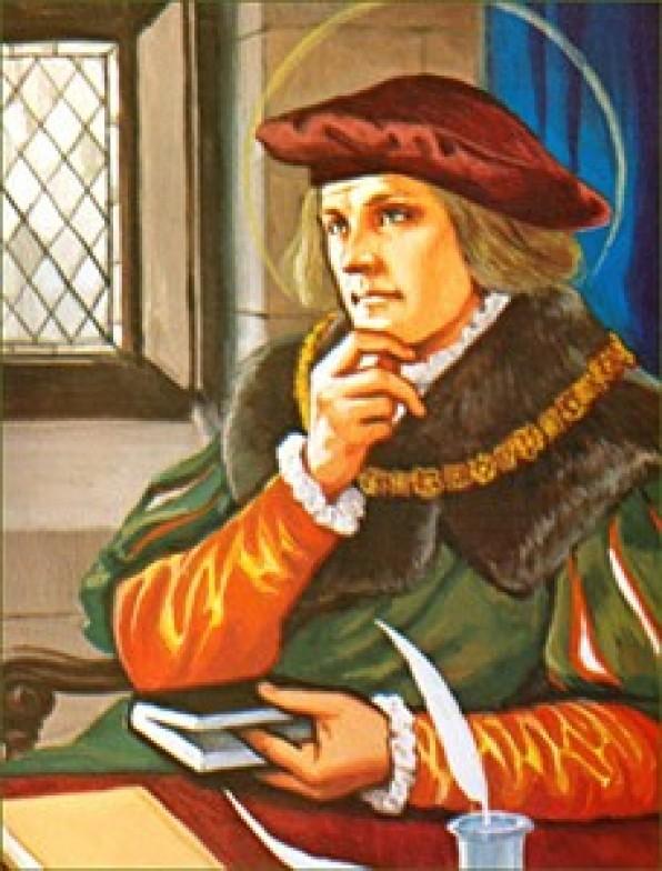 20 Tháng Sáu Thánh Tôma More (1478-1535)