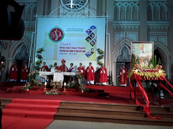 GP Đà Nẵng: Khai mạc Năm Thánh Tôn Vinh các Vị Thánh Tử Đạo Việt Nam