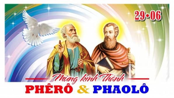 HAI THÁNH TÔNG ĐỒ PHÊRÔ – PHAOLÔ
