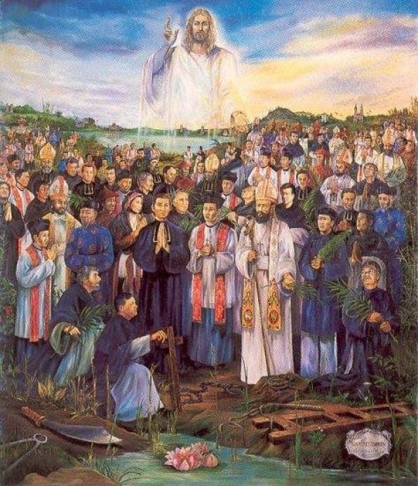 Tìm hiểu đôi nét về Các Thánh Tử Đạo Việt Nam và Danh sách các Thánh Tử Đạo VN